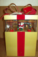 GEMMY INDUSTRIES MUSICAL POP UP CHRISTMAS BOX PLAYS MUSIC FROM SANTA 2