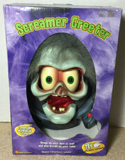 2003 Gemmy Talking Animated Halloween Screamer Greeter Monster Ghoul - NEW