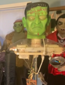 Gemmy Prototype Halloween life-size Frankenstein