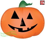 Jack O Lantern Pumpkin Gemmy Airblown Inflatable Yard Decoration Halloween 72729 thumbnail