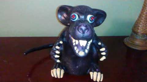 Gemmy 2006 Animated Pet Rat (VERY RARE)