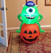 Gemmy Prototype Halloween Monsters University Inflatable Airblown