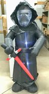 6ft Gemmy Airblown Inflatable Christmas Star Wars Kyle Ren Prototype