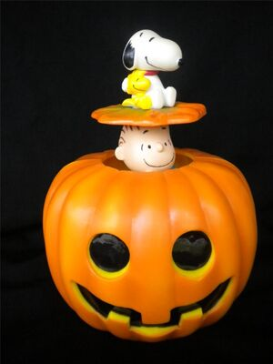 Animated great pumpkin halloween decoration 3