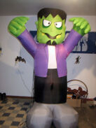 Gemmy 8' Frankenstein Monster Halloween Airblown Inflatable