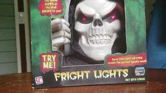 Fright Lights Reaper Gemmy 2006 Halloween