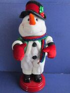 Gemmy Animated Musical Snowman Dances to ''Shake Your Groove Thing''
