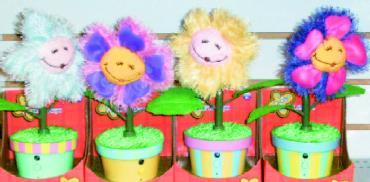 Singing d=Dancing Flowers Asst.