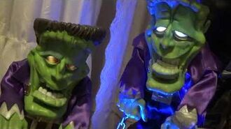 Freaky Geeks Deluxe Monster Prototype and Sample Monster 2