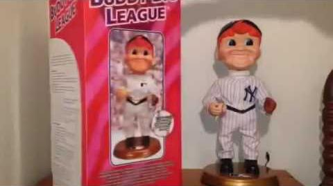 "Gemmy Sports Series Animated ""Buddy Big League"" (New York Yankees) (1st One)"