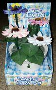 RARE Gemmy Dancing Musical Animated Flower Pot