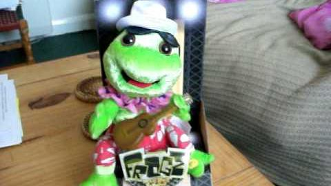 (Gemmy) Frogz - Country Frogz - Its 5 O'clock Somewhere.