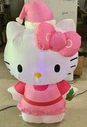 Gemmy Prototype Christmas Inflatable Hello Kitty