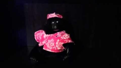 Gemmy hot hot hot gorilla