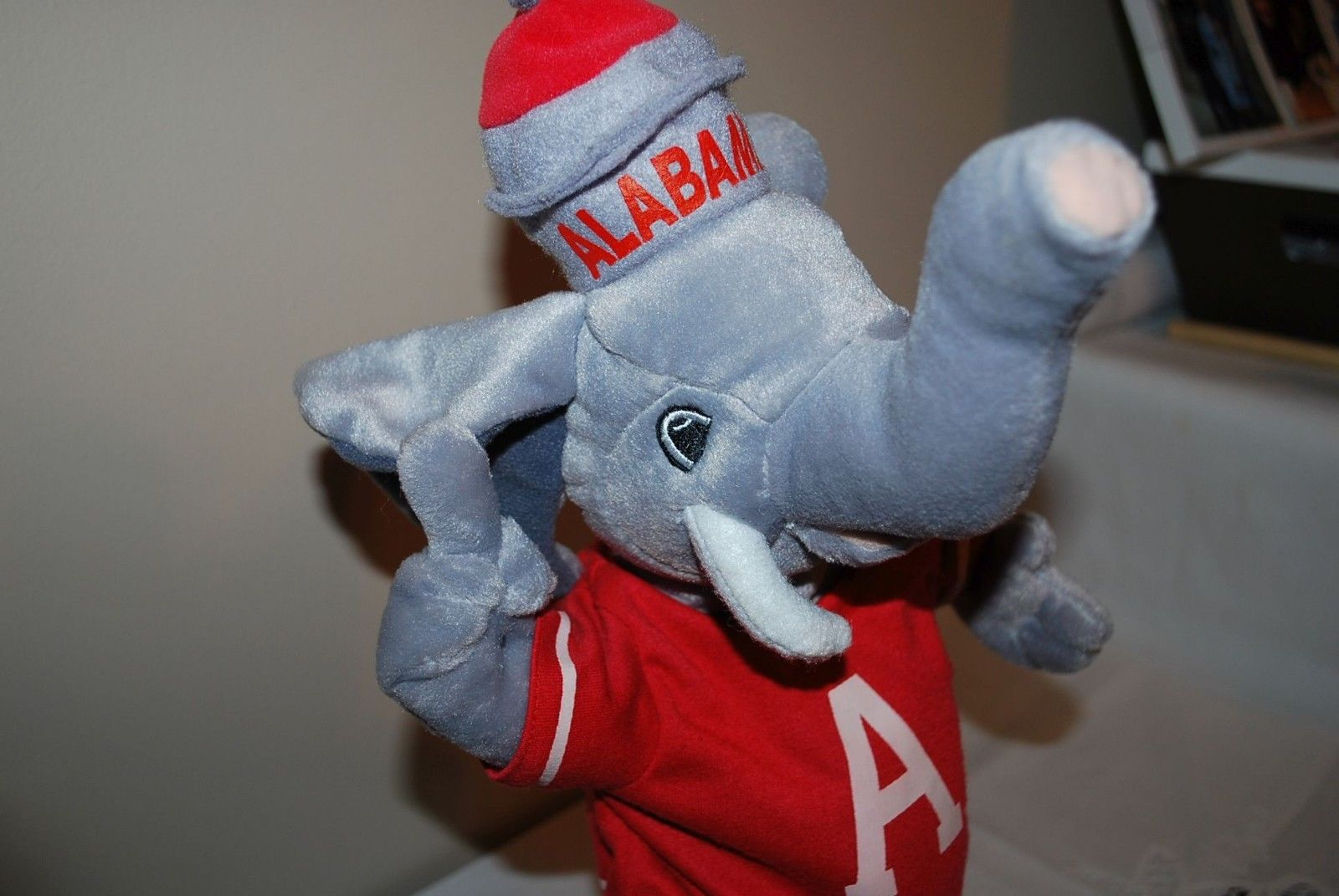 Image University Of Alabama Crimson Tide Stuffed Elephant Plays