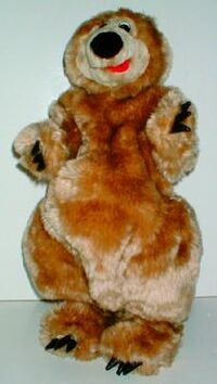 Singing Boogie Bear