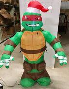 4ft Gemmy Airblown Inflatable Christmas Teenage Mutant Ninja Turtle Prototype