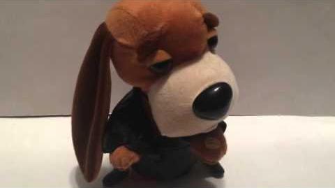Gemmy 2003 Singing & Dancing Hound Dogs Ultimate Elvis Sings ''Trouble''