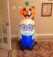Gemmy Prototype Halloween Minion Inflatable Airblown