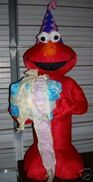 AIRBLOWN INFLATABLE 4' BIRTHDAY ELMO NEW