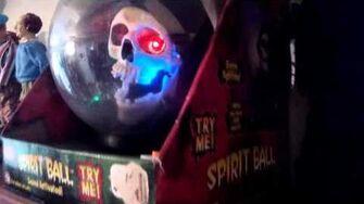 Gemmy 2007 skull spirit ball-0