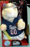 NFL Cheering Hamster-New England Patriots