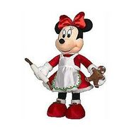Christmas Greeter-Minnie Mouse