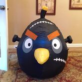 Gemmy Prototype Halloween Angry Birds Inflatable Airblown