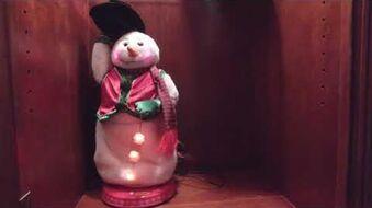 Common red vest snowman demo