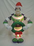 Gemmy inflatable buzz lightyear Christmas