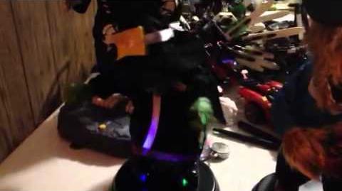 Grave raver witch prototype