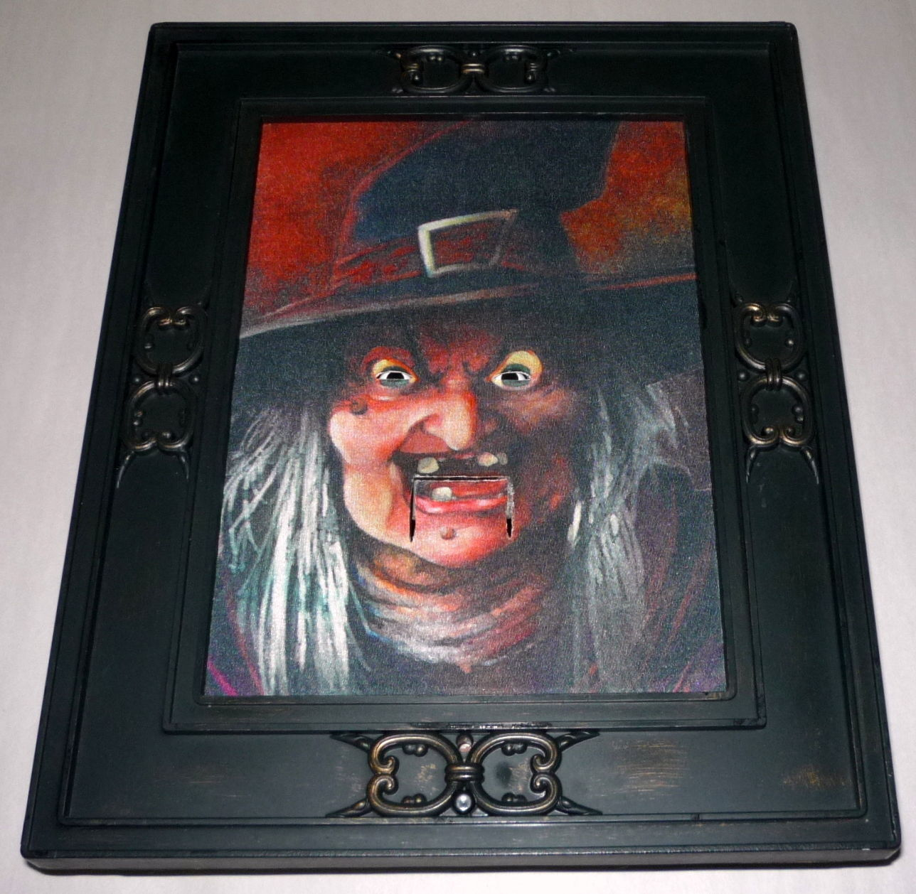 Image rare gemmy wicked witch talking animated 3 d halloween 15 rare gemmy wicked witch talking animated 3 d halloween 15 x 12 picture frameg jeuxipadfo Gallery