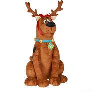 Christmas Greeter-Scooby Doo as reindeer