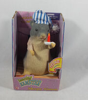 New Gemmy Singing Dancing Hamster Sleepy Simon Sings Mr Sandman Rare NIP Novelty