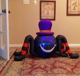 Gemmy Prototype Halloween Spider Inflatable Airblown