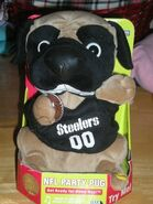 PIITSBURGH STEELERS NFL PARTY PUG