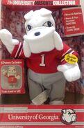 University of Georgia Bulldog Mascot Dancing Singing Gemmy Exclusive
