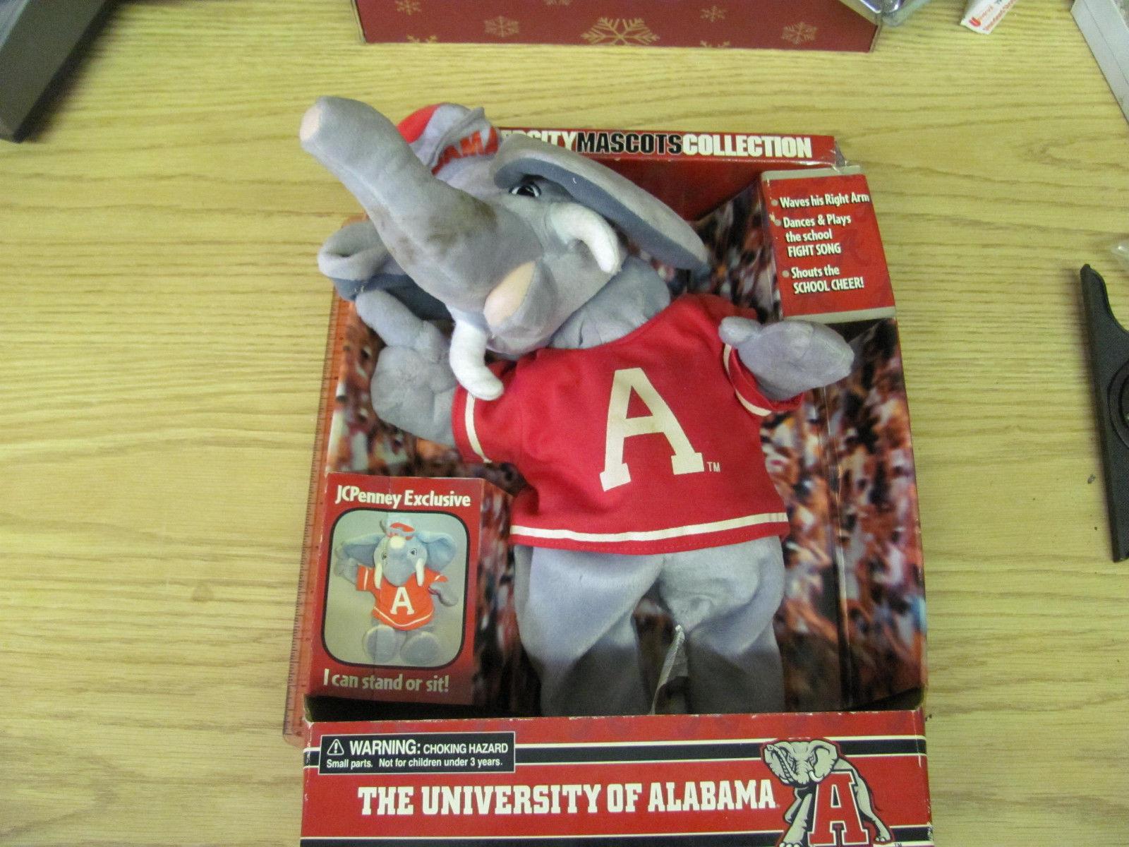 Image - Vintage University of Alabama Mascots Collection Elephant ...