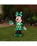 Airblown-st-patricks-day-minnie-mouse-disney-inflatable-gemmy-industries