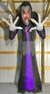 Gemmy Prototype Halloween Inflatable Giant Reaper