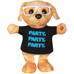 Party rockin' puppy