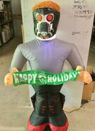 Gemmy Prototype Christmas Inflatable Star Lord