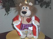 Gemmy Valentine's Day Animated Singing Flirty Flasher Lion