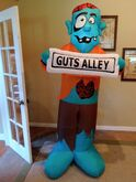 Gemmy inflatable guts alley zombie
