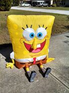 Gemmy inflatable talking spongebob 2