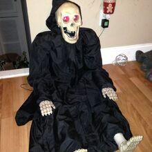 Gemmy talking grim reaper