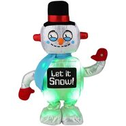 Side Stepper-Christmas Robot-Snowman