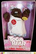 Gemmy singing dancing toga bear