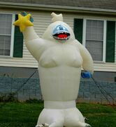 GEMMY 8FT BUMBLE THE ABOMINABLE SNOWMONSTER LIGHTED AIRBLOWN INFLATABLE DISPLAY