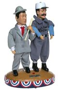 Gemmy pop culture series-Abbot and Costello